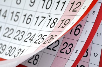 Данъчно-осигурителен календар за периода от 25 до 31 август 2019 г.