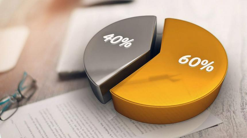 Признаване на приход от компенсация по схема 60 на 40