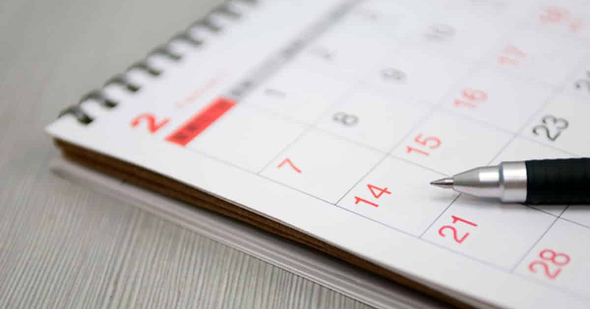 Данъчно-осигурителен календар за периода от 22-ри до 28-ми юни 2021 година