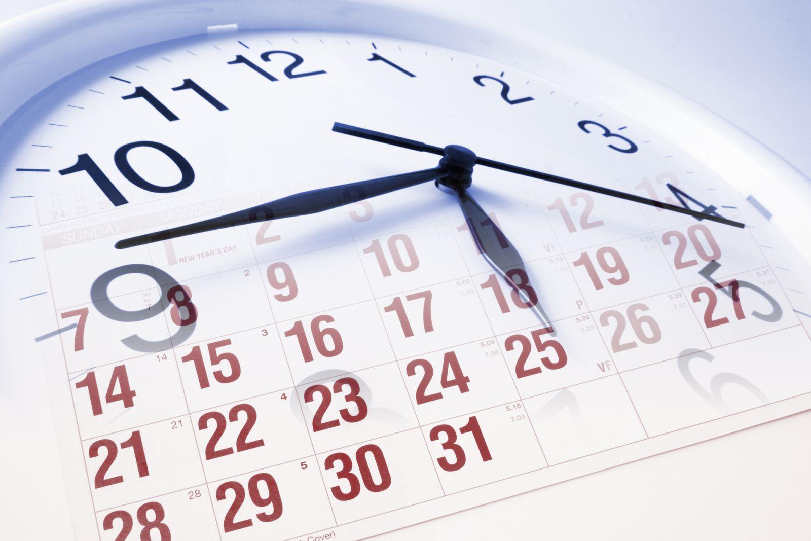 Данъчно-осигурителен календар за периода от 28-ми август до 03-ти септември 2021 година