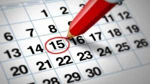Данъчно-осигурителен календар за периода от 04-ти до 14-ти септември 2021 година